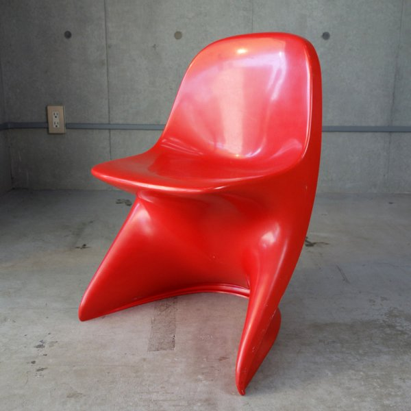 Casalino1 Childrens Chair / Red