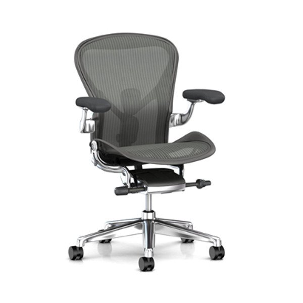 Aeron Chair Remastered Carbon Frame / Polished Aluminum Base<img class='new_mark_img2' src='https://img.shop-pro.jp/img/new/icons61.gif' style='border:none;display:inline;margin:0px;padding:0px;width:auto;' />