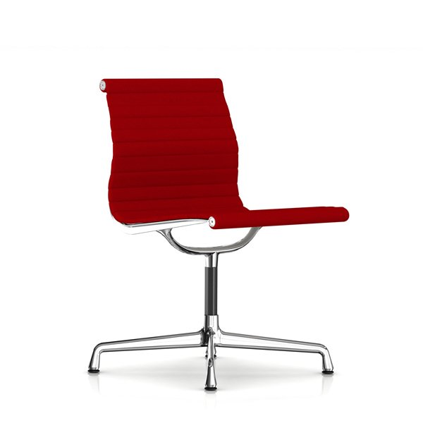 Eames Aluminum Group Side Chair /  Crepe