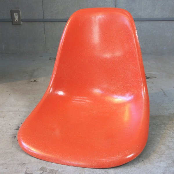 Side Shell / Red Orange / Salmon Pink