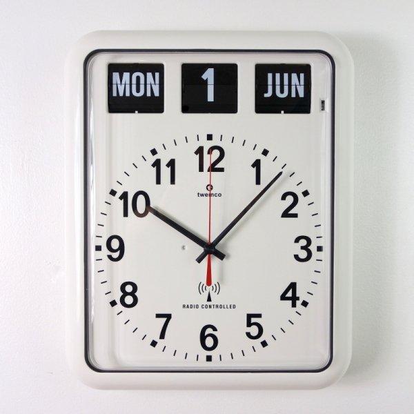 Twemco Radio Control Calendar Clock #RC-12A