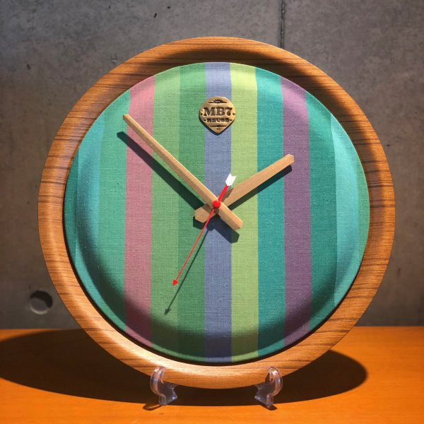 【MADE BY SEVEN -REUSE-】PLYWOOD WALL CLOCK