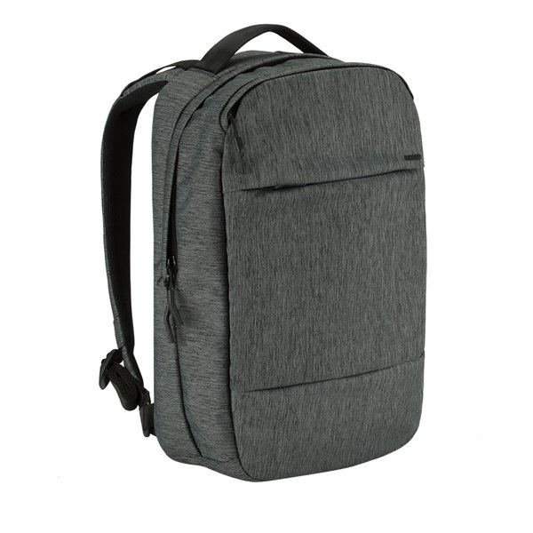 Incase City Collection Backpack / HEATHER BLACK