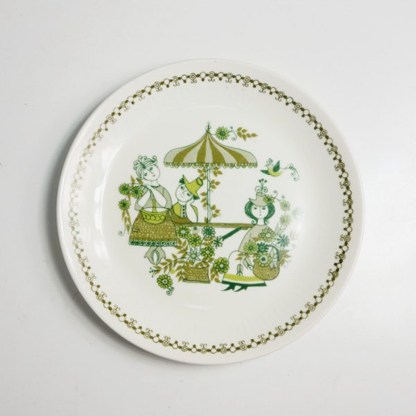 "Figgjo ""Market"" / Dinner Plate"