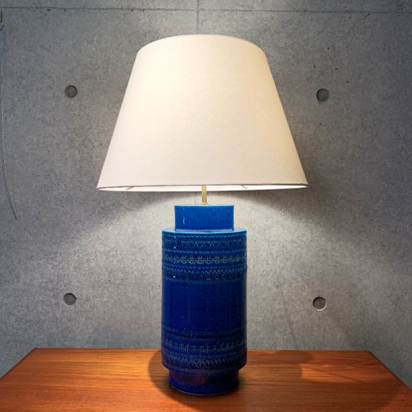 Rimini Blu Base Lamp / High