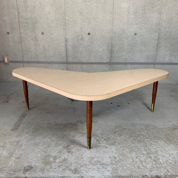 Vintage boomerang Table
