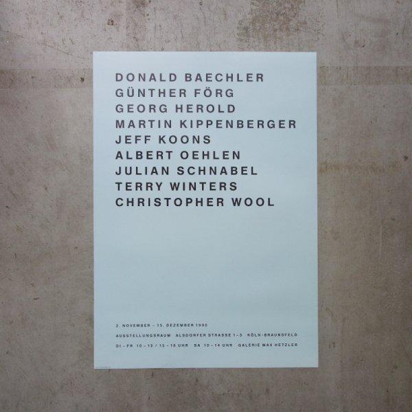 Galerie Max Hetzler / Exhibition 1990 11/2-12/15