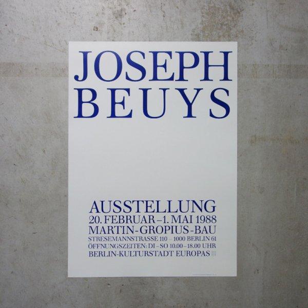 Joseph Beuys / 1988 Ausstellung