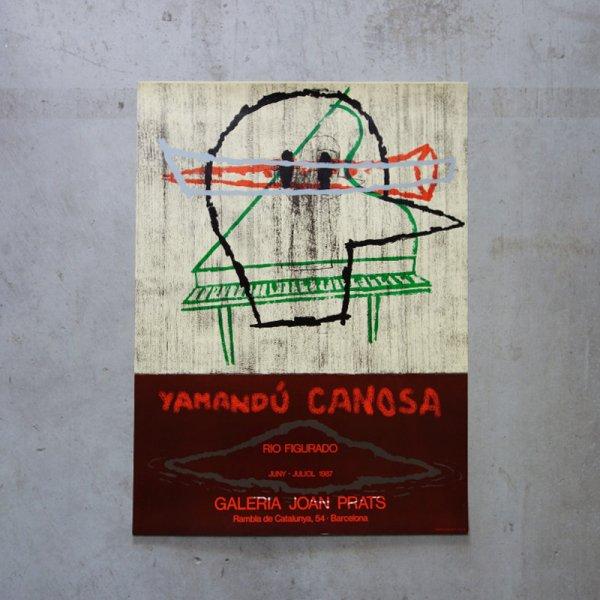 "Yamandú Canosa / ""Rio Figurado-1987"" / Galeria Joan Prats"