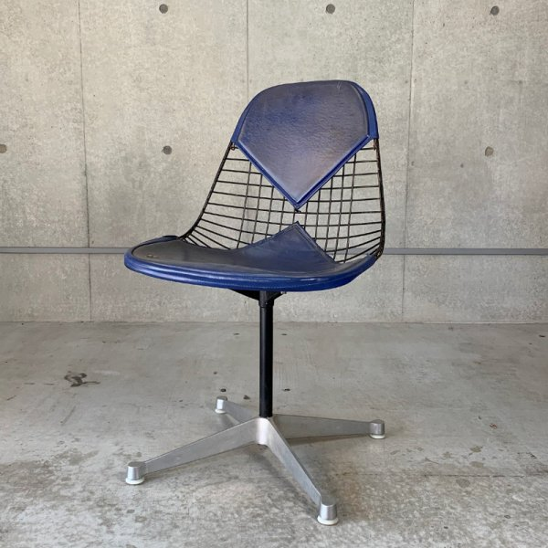 Eames Wire Chair with Contract Base