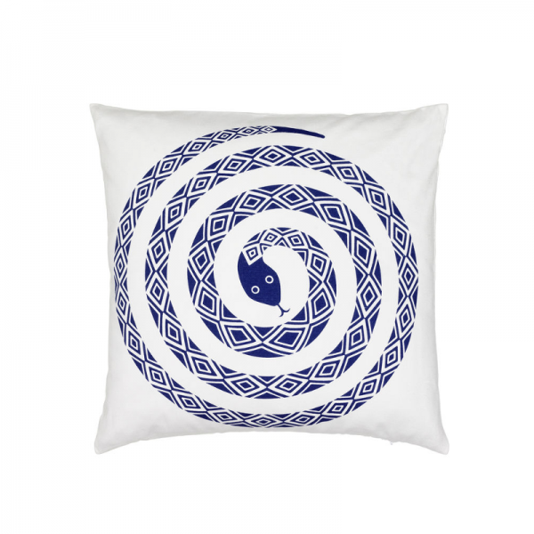 Graphic Print Pillows / Snake