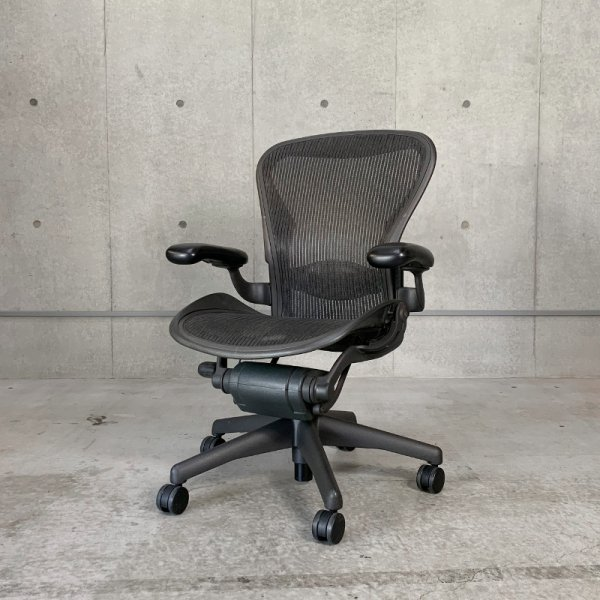 Aeron Chair ランバーサポートスタンダード装備 Used<img class='new_mark_img2' src='https://img.shop-pro.jp/img/new/icons47.gif' style='border:none;display:inline;margin:0px;padding:0px;width:auto;' />