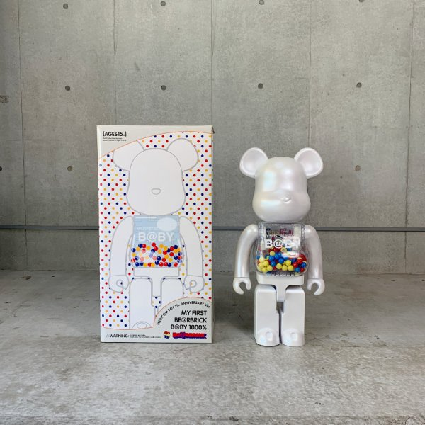 MY FIRST BE@RBRICK B@BY 1000% / 15th Anniversary Edition
