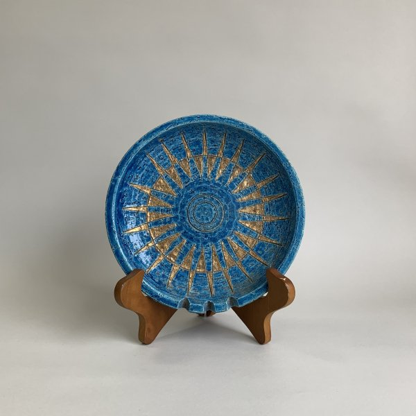 Rimini Blue Vintage Ashtray