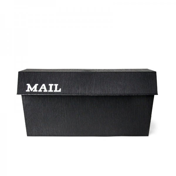 Fulton Horizontal Poly Wall Mount Mail Box