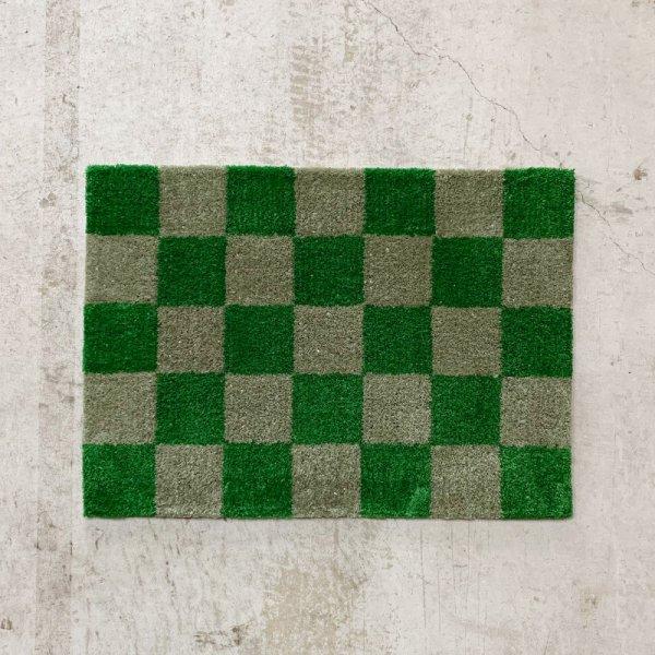 Original Rug / Block(Green x Grey)