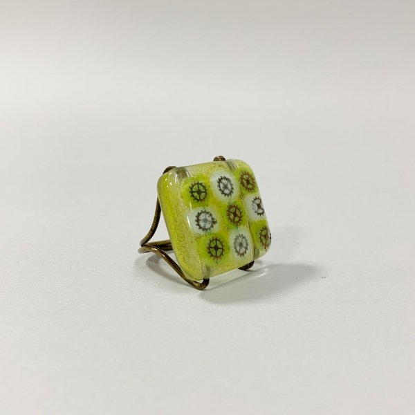 Higgins Glass / Clock Work Parts Ring / #46