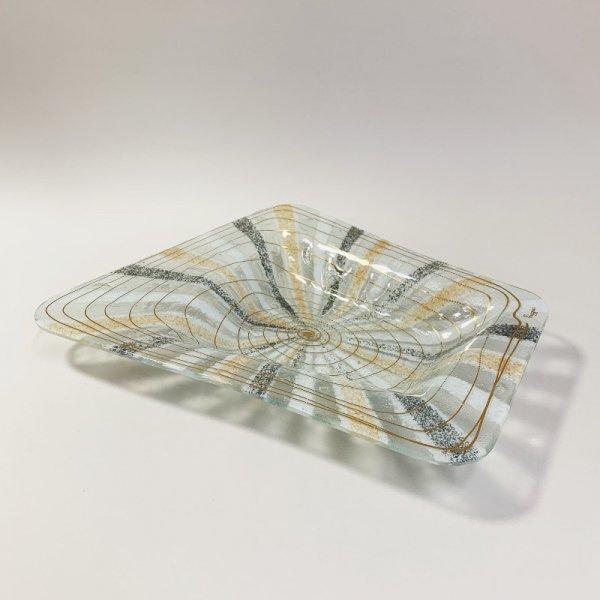 Higgins Glass / Four Side Dish / Castilian / #12