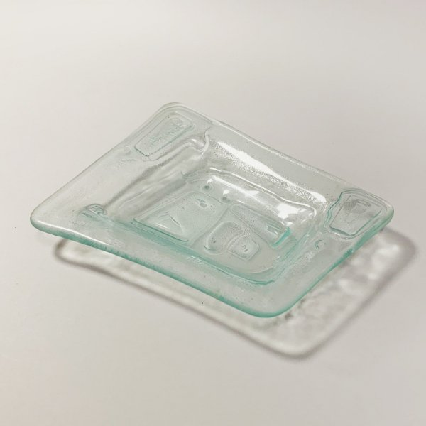 Higgins Glass / Four Side Dish / #14