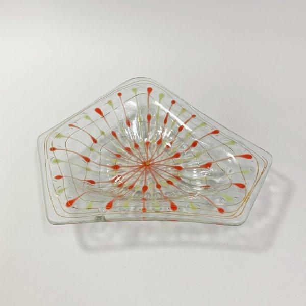 Higgins Glass / Five Side Dish / Classic Line / #16