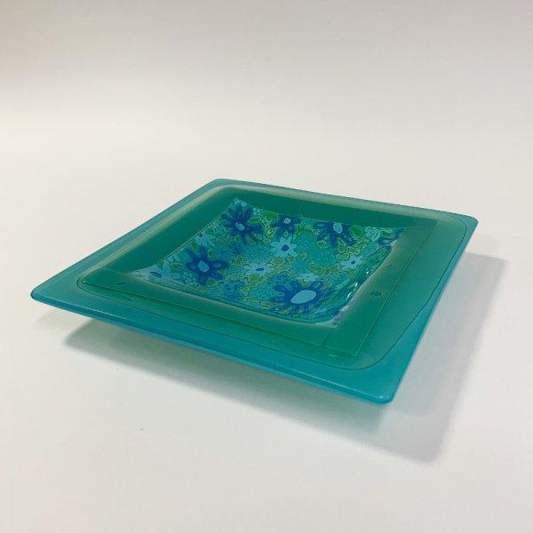 Higgins Glass / Square Dish / #37