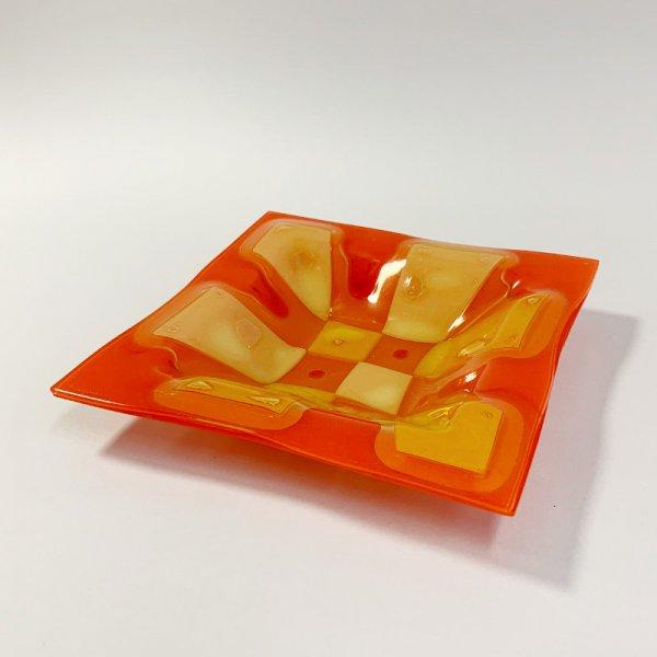 Higgins Glass / Square Dish / #11