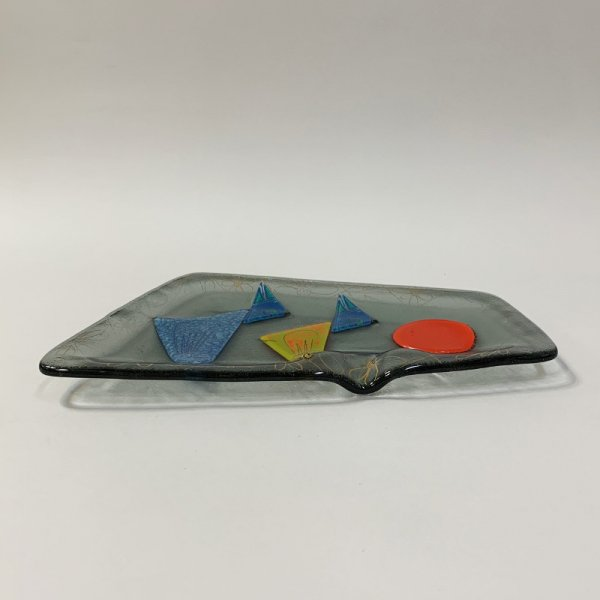 Higgins Glass / Ash Tray / Birds / #51