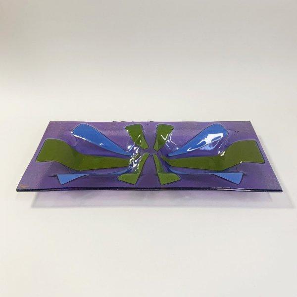 Higgins Glass / Rectangular Dish / Classic Line / #64