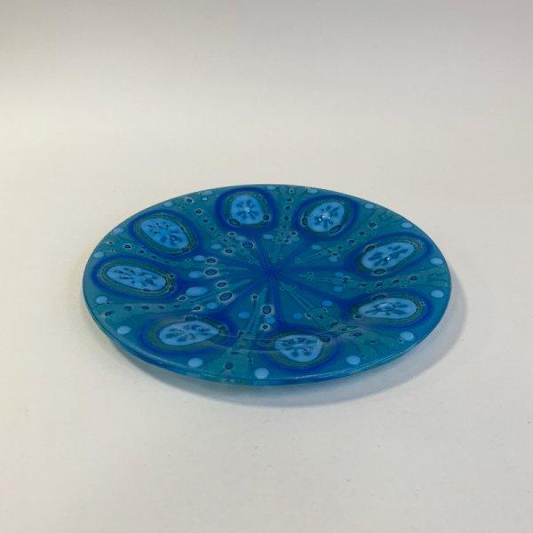 Higgins Glass / Circle Dish / #74