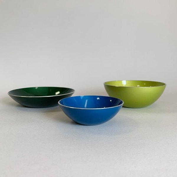 Enamel Bowl Set of 3 / Emalox