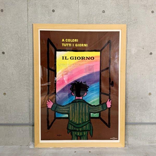 Raymond Savignac Poster / IL Giorno 1952