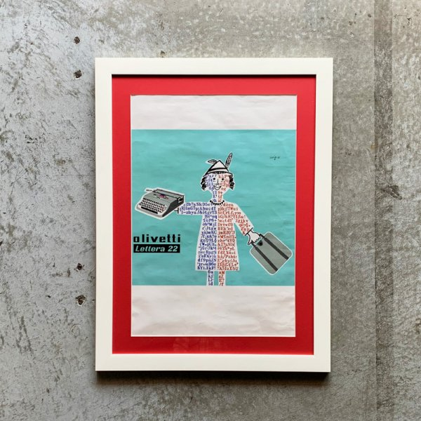 Raymond Savignac Poster / Olivetti 1953