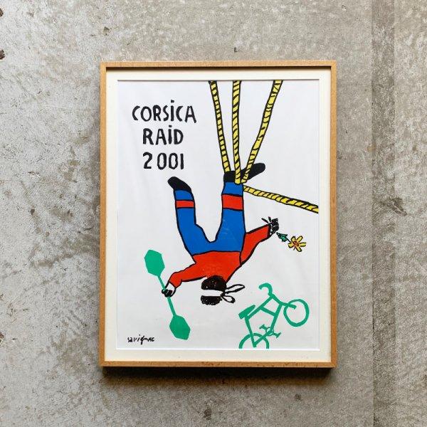 Raymond Savignac Poster / Corsica Raid 2001