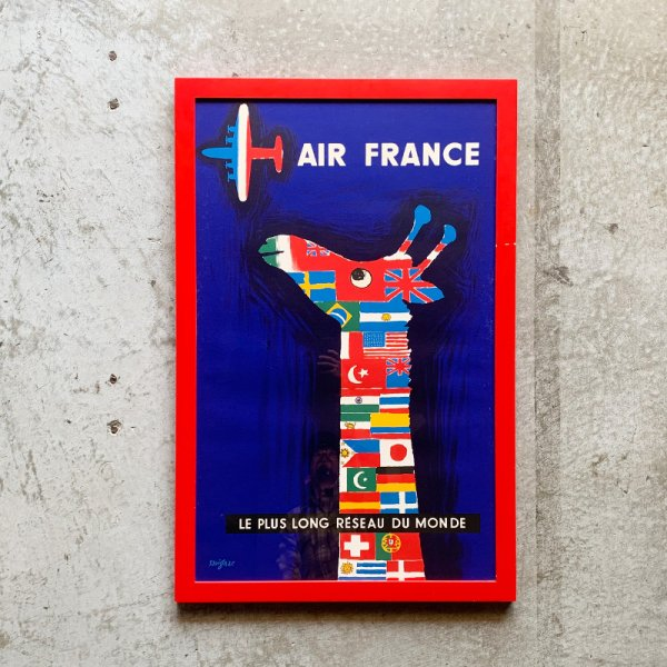 Raymond Savignac Poster / Air France 1956