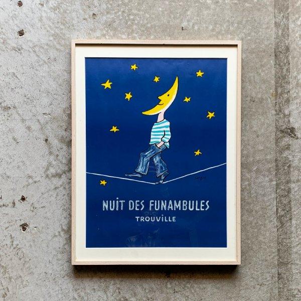 Raymond Savignac Poster / Nuit Des Funambules1985