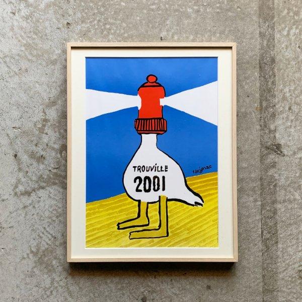 Raymond Savignac Poster / Trouville 2001