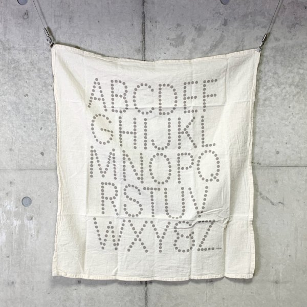 Tea Towel / Alphabet