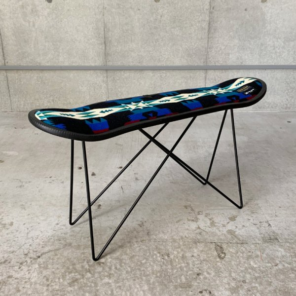 SKATE DECK STOOL / TUCSON BLACK
