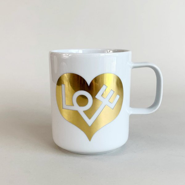 Coffee Mugs /   Love Heart Gold<img class='new_mark_img2' src='https://img.shop-pro.jp/img/new/icons5.gif' style='border:none;display:inline;margin:0px;padding:0px;width:auto;' />