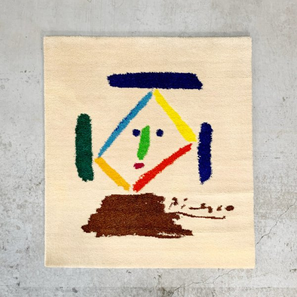 Picasso Art Rug / Limited edition No.33/500