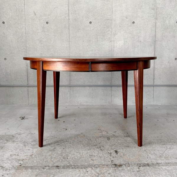 Round Dining Table Model 55 / Rosewood