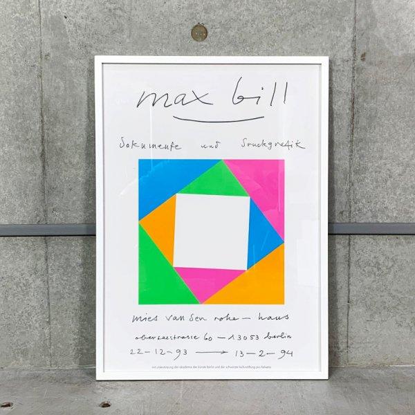Max Bill Poster / Mies van der Rohe Haus 1993