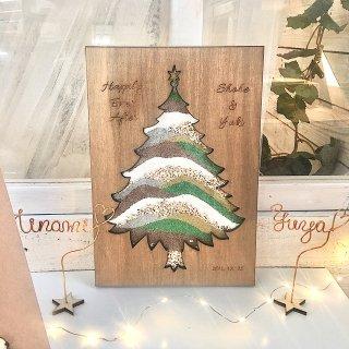 サンドセレモニー ウェディングツリー クリスマスツリー