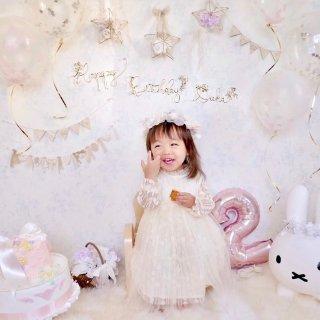 【送料無料】お誕生日 バースデーガーランド 小枝 フォトアイテム
