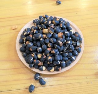 ぽりぽり美味しい煎り黒豆【北海道産】 (黒豆ごはんもできます)400g