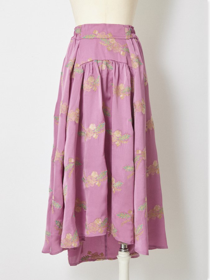 Lease Embroidery Skirt