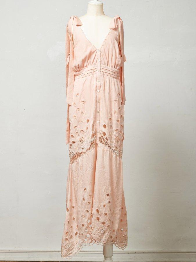 Rose Cut-work Dress