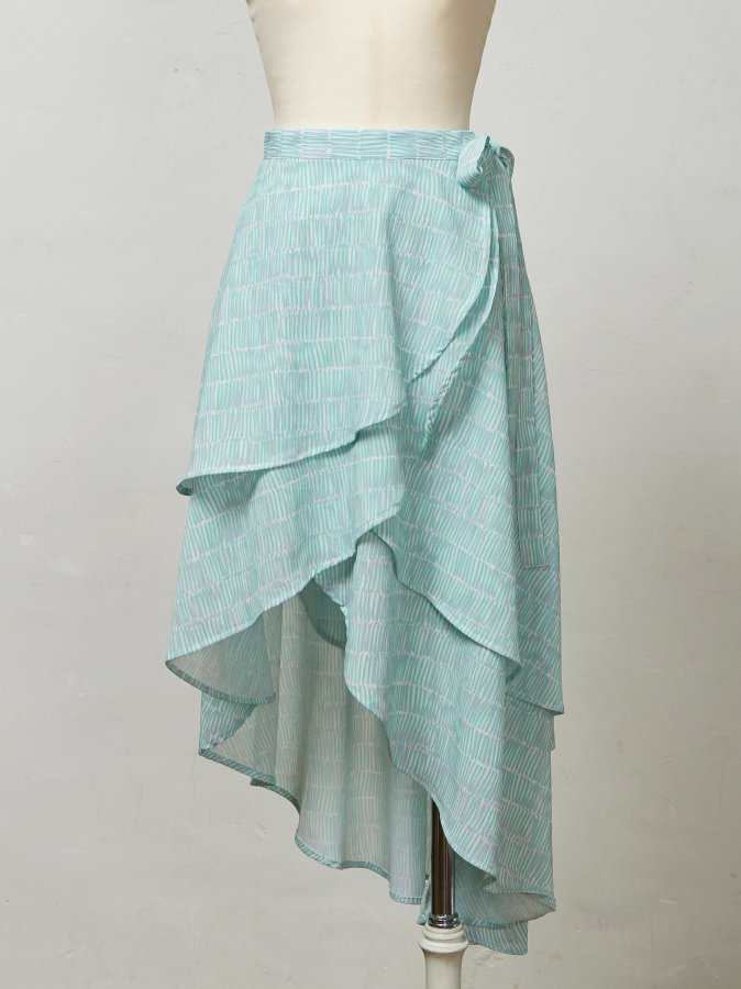 Frilly Rap Skirt