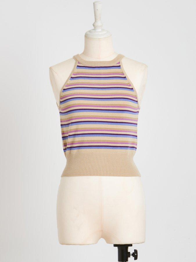 【Pre order】American Sleeve Knit Tank