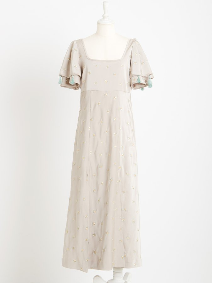 【Pre order】Butterfly Embroidery Dress
